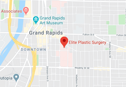 Map of Elite Plastic Surgery in Grand Rapids